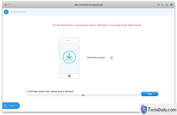 Récupération du système iOS, réparation pour réparer vos appareils sur Mac