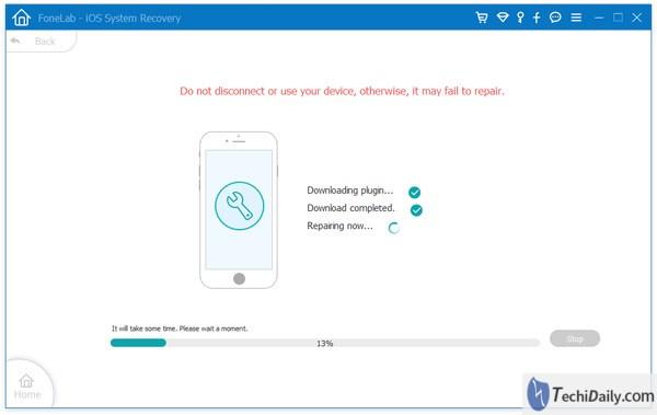 Récupération du système iOS, réparez votre système iOS sous Windows