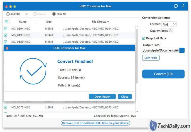 HEIC Conversion on Mac