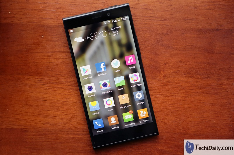 Reset pattern lock Tutorial for Gionee Elife E7   TechiDaily