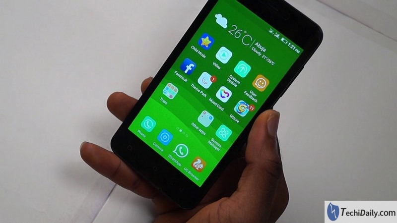 The way to recover deleted photos on Gionee Pioneer P5 mini