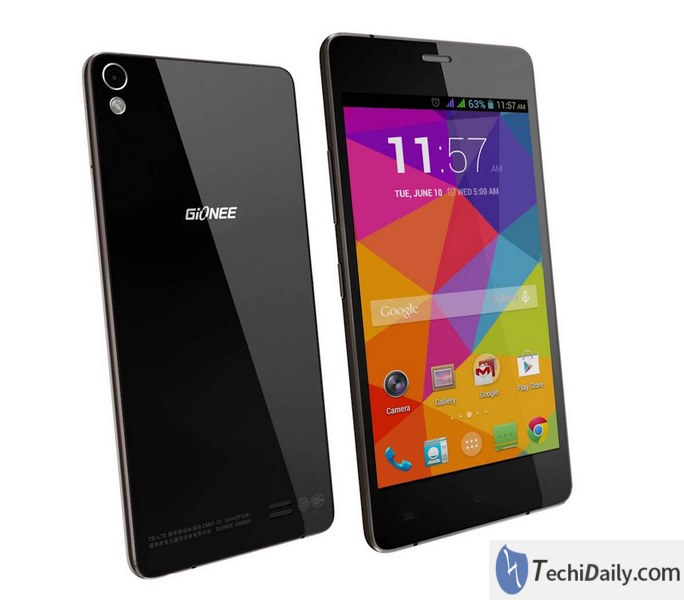 Forgot your Gionee Pioneer P5W lock screen pattern, PIN or