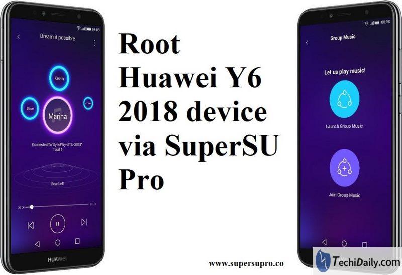 Remove Huawei Y6 2018 unlock screen | TechiDaily