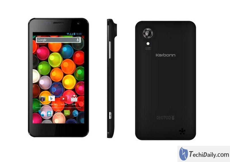recover lost data from Karbonn Titanium S4