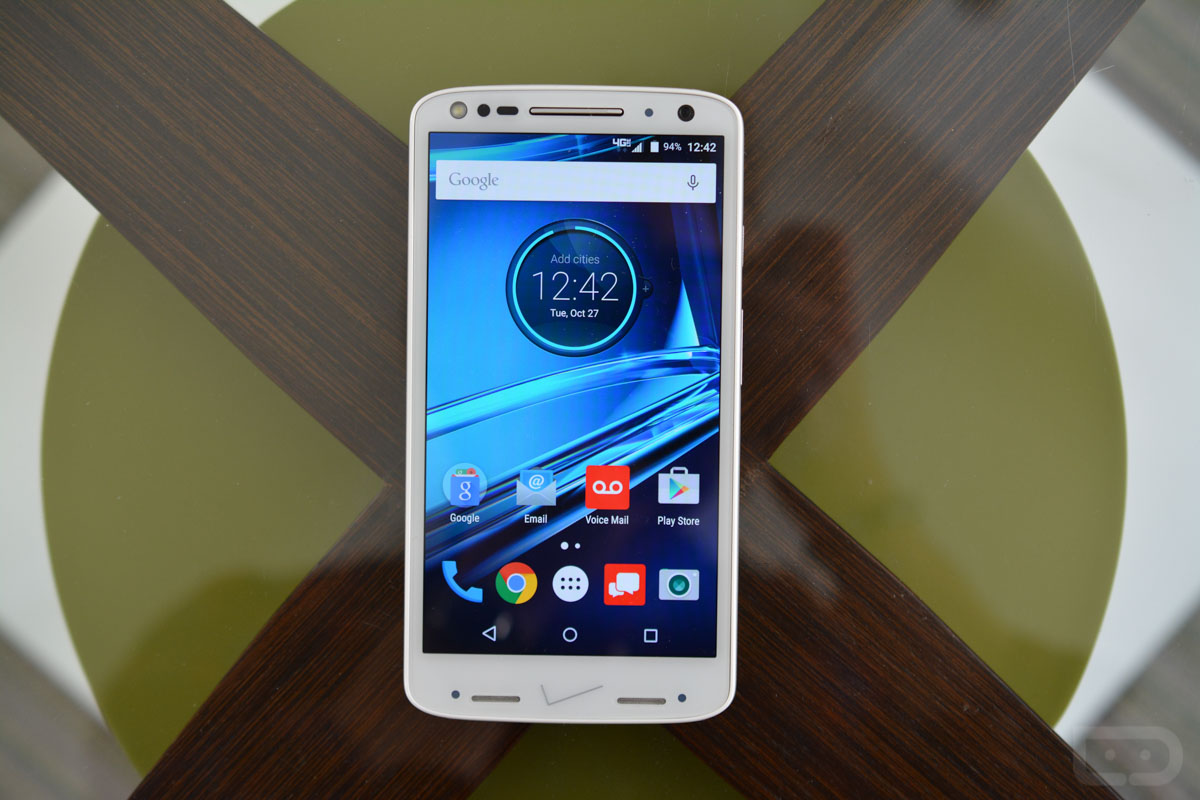 How to bypass Motorola Droid Turbo 2's lock screen pattern