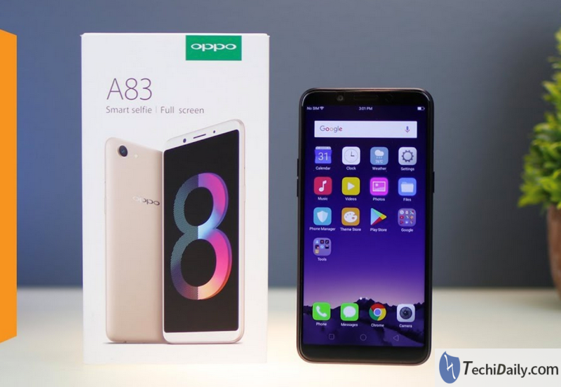 Turn Off Screen Lock - Oppo A83 (2018) | TechiDaily