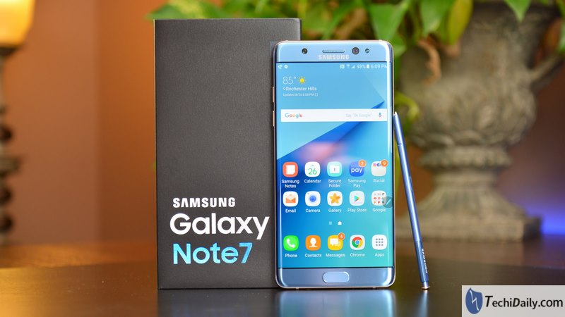 Unlock android phone if you forget the Samsung Galaxy Note7