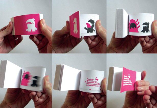 It is a graphic of Printable Flip Books inside project