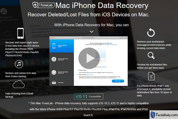 What is the best Mac data recovery tool for iPhone 8/8 Plus