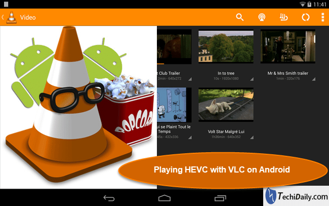 Issues playing H 265 HEVC video with VLC on Android | TechiDaily